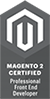 certificado Magento Front Developed