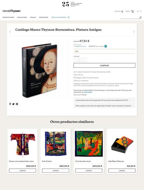 Tienda Museo Thyssen-Bornemisza
