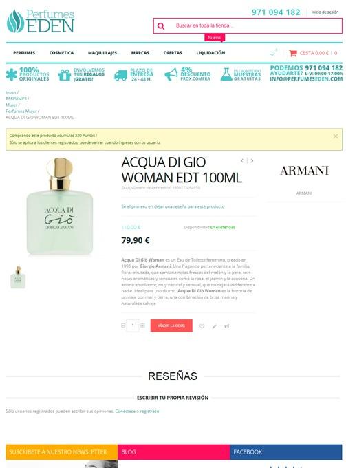Perfumes Edén